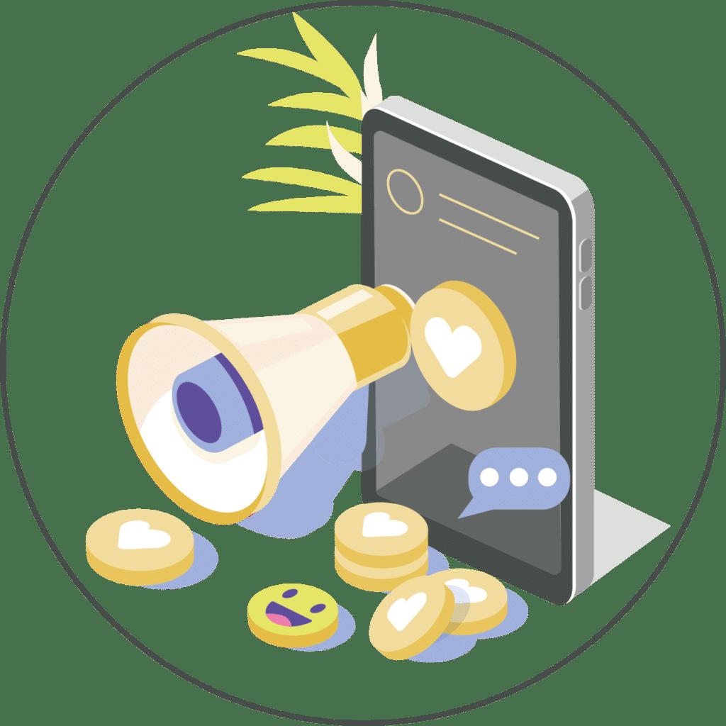 illustration stratégie digitale