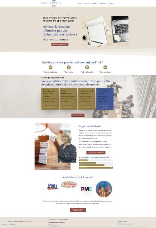 site web postscriptum
