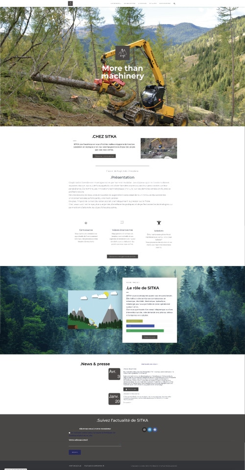 site web sitka
